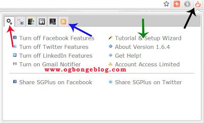 sgplus browser plugin: autopost to facebook, twitter
