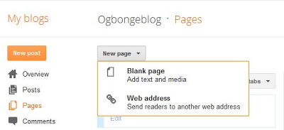 how to add your header to blog