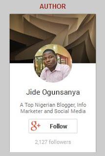 Google+ profile badge