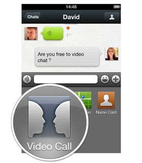 video call on WeChat