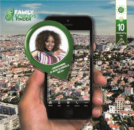 Glo Family and Friends Finder