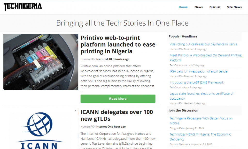 techNigeria site