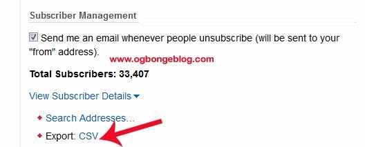 How To Download Feedburner Email List – OgbongeBlog
