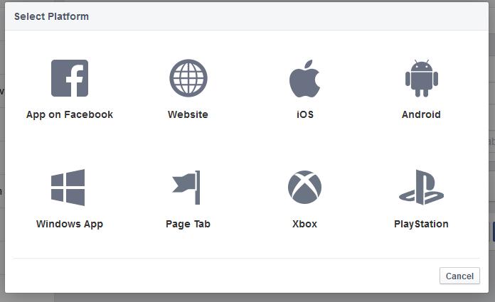 facebook application platforms