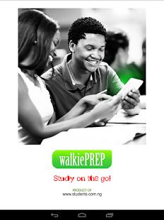 Walkie prep app