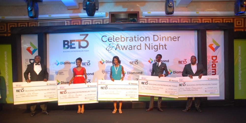 Diamond bank bet4 winners