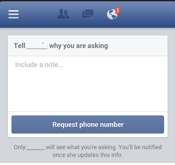 Facebook ask feature