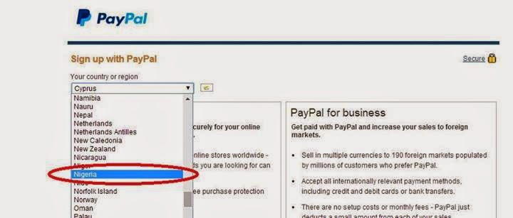 PayPal Account Sign Up With Nigeria IP Now Possible! – OgbongeBlog