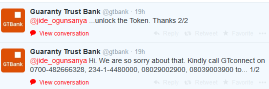 GTBank Token Device Locked? Here Is How To Reset It