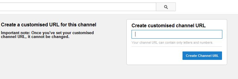 change youtube username url