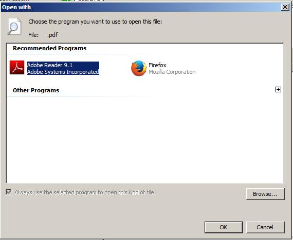 set default program windows 7