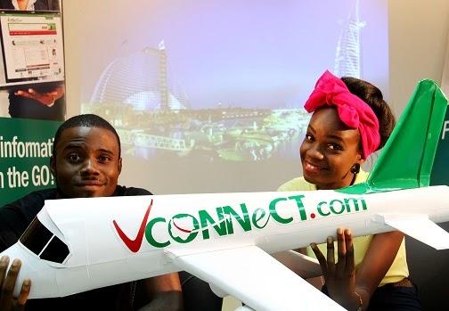 Dubai trip promo by vconnect winner : Ewoma Oyegwa