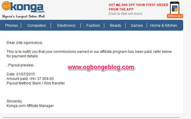 konga NIgeria payment