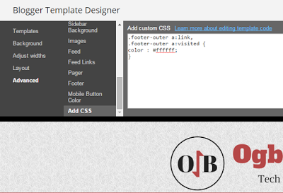 css for Blogger awesome template