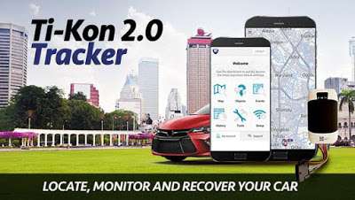 tikon car tracking machine