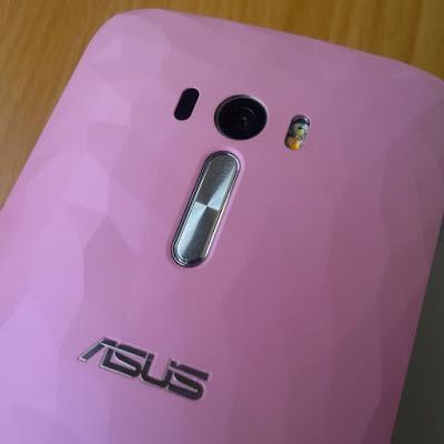 Asus Zenfone Selfie volume control and camera button