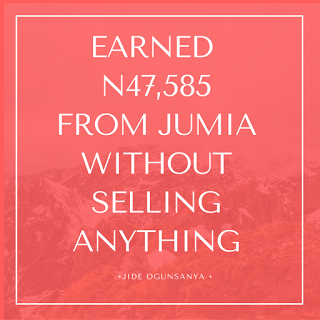 earn money from jumia online shopping site