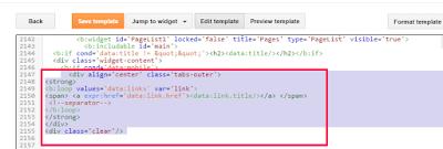 pagelist code blog design