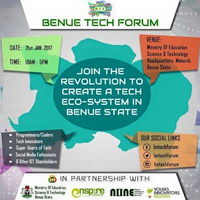 benue tech forum