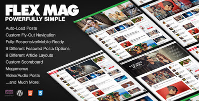 flex mag responsive magazine theme for wordpress