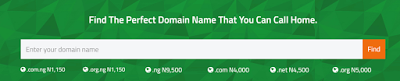 price of domain registration in nigeria at garanntor nigeria