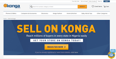 sell on konga nigeria online shopping store