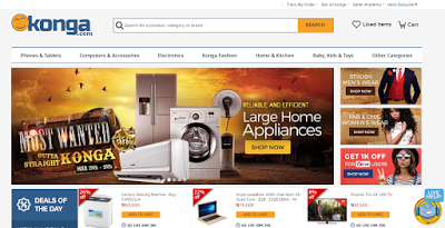 search konga nigeria online shopping site