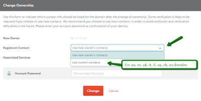 namecheap domain registrant