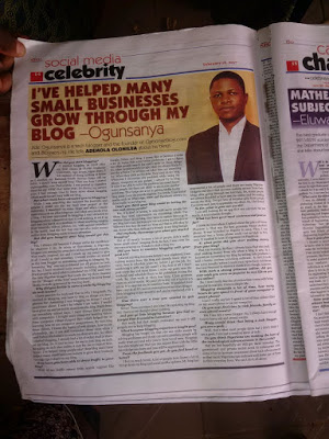 punch newspaper interview with nigerian blogger jide ogunsanya
