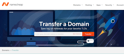 transfer domain to namecheap from domainking.ng