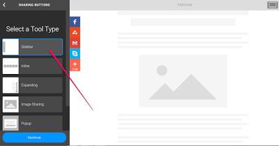 addthis sidebar share tool