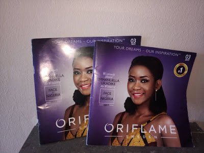 oriflame cosmetics catalogue