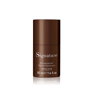 oriflame signature roll on for men