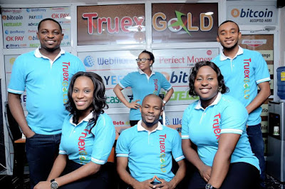 truexgold nigeria ecurrecy exchanger perfectmoney bitcoin okpay