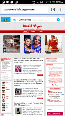 wizkid blogger template download