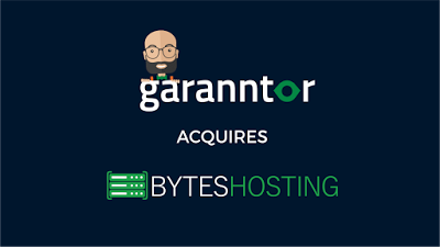 byte web hosting company acquired by garanntor