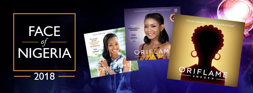 face of oriflame Nigeria 2018