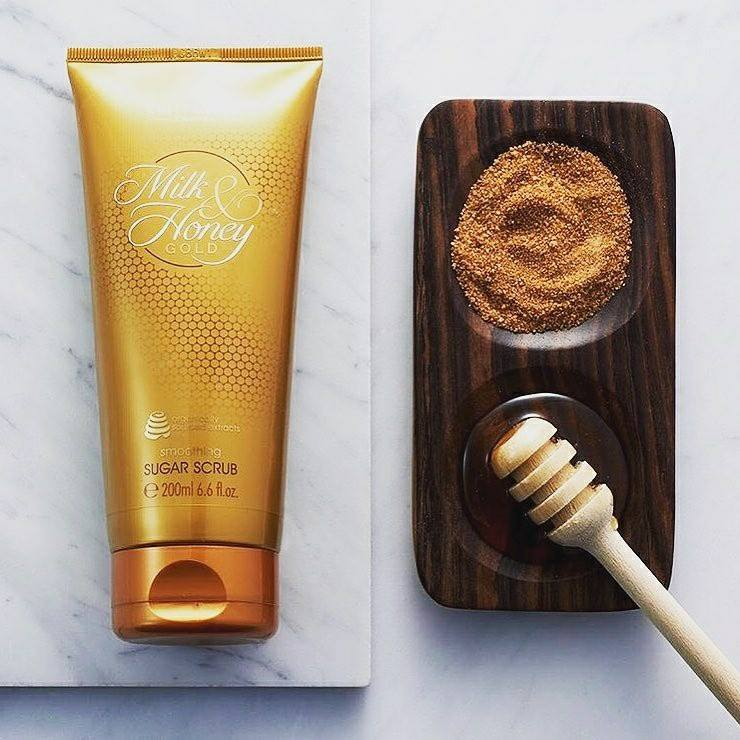oriflame milk and honey beauty product