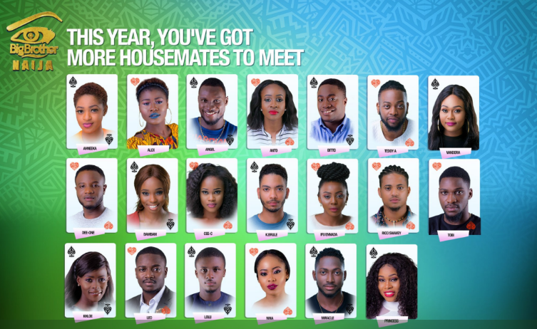 big brother naija season 3 contestants and housemates