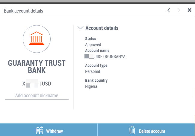 How To Add Your Local Bank Account In Payoneer For Money