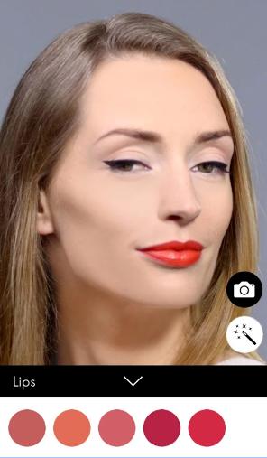oriflame make up app