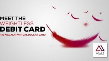 nigerian virtual dollar card by alat wema bank