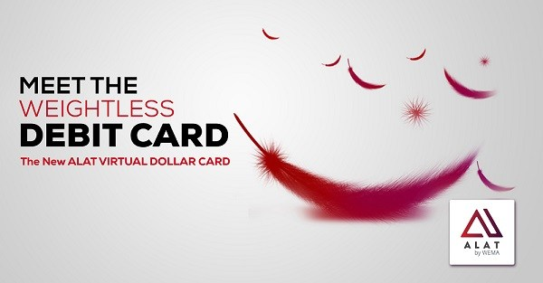 nigerian virtual dollar card by alat wema bank