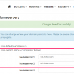 domainking nameservers for whogohost domain name