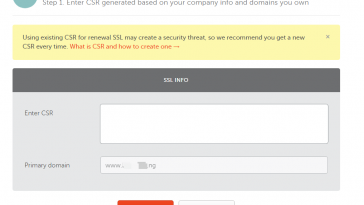 namecheap positive ssl generate csr