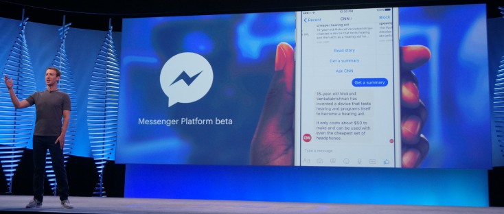 facebook messenger chat bot marketing
