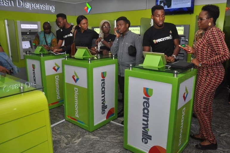 dreamville financial game by diamond bank