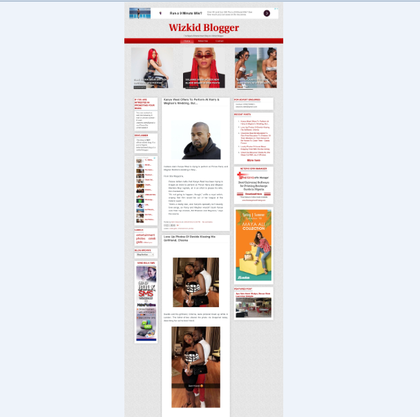 wizkidblogger wordpress theme