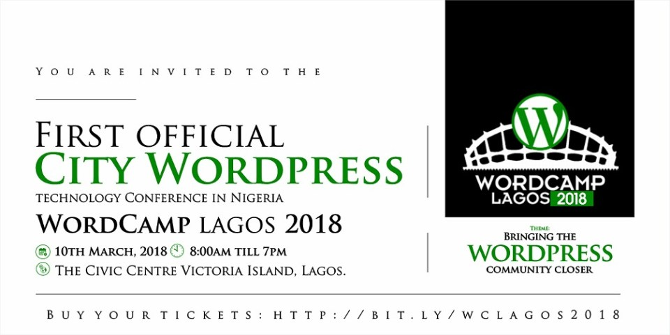 wordcamp lagos 2018