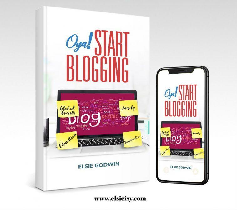 oya start blogging ebook by elsie